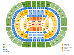 Concert Seating Chart Quicken Loans Arena San Antonio Spurs At Cleveland Cavaliers At Quicken Loans
