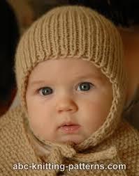Earflap Hat Knitting Pattern Awesome ABC Knitting Patterns Ribbed Baby Earflap Hat