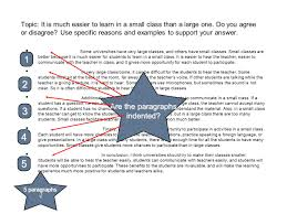 paragraph essay some universities have very large classes and 3 some universities