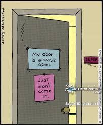open door policy cartoon 1 of 69