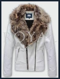 mens faux fur leather jacket