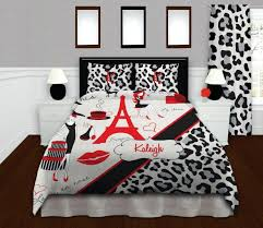 um image for bedding dorm cheetah print duvet cover and comforter set oversized queen 90 x