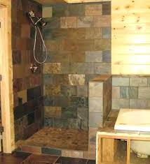 tile walk in shower tiled no door showers without doors pictures of custom country curtains
