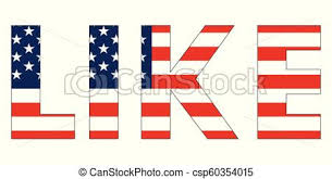 american flag word art word text like usa flag vector word like styled under the us flag