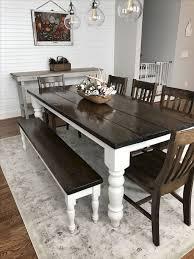 farmhouse dining room ideas. Published February 27, 2018 At 1024 × 1364 In 80+ Stunning Rustic Farmhouse Dining Room Set Furniture Ideas N
