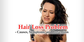 hair loss problem causes symptoms