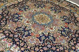 large round persian rugs