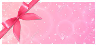 Holiday Gift Certificates Holiday Gift Certificate Gift Voucher Coupon Template Pink