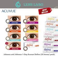 johnson 1 day acuvue define
