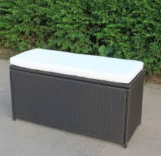garden bench storage box