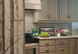 taupe kitchen cabinets with brass cup pulls view full size