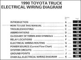 similiar toyota pickup wd wiring locations keywords 1990 toyota pickup truck wiring diagram manual original