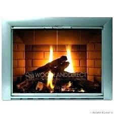 gas fireplace glass doors s door cleaner open or closed