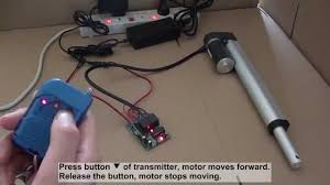 how to control linear actuator motor by ordinary ch rf remote how to control linear actuator motor by ordinary 2ch rf remote control kit