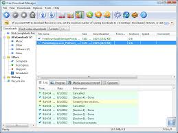 Screenshot Free Download Manager ...