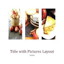 Publisher Cookbook Template Publisher Cookbook Template