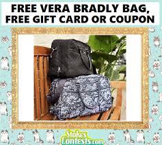 free vera bradley bags free 100 gift