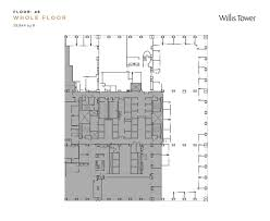 Comparing To The SearsWillis Tower  Letu0027s Roll ForumsWillis Tower Floor Plan