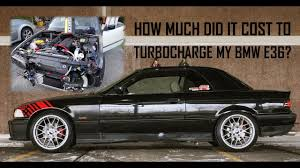 Coupe Series how much does a bmw m3 cost : HOW MUCH Did It Cost Me To Turbocharge My BMW E36? How Much Could ...