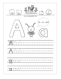 abc tracing sheet free handwriting worksheets for the alphabet