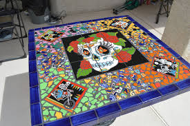 introduction mexican tile table