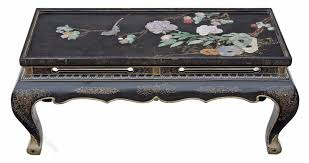 coffee table chinese black lacquer furniture home design ideas and pictures