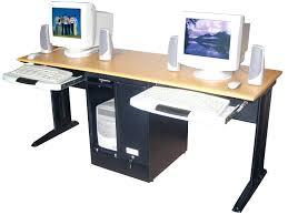 full size of computer desks computer desk for 2 monitors uk 20 deep black brown