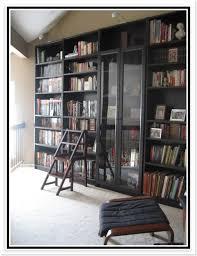 ikea hemnes bookcase glass doors office ideas hemnes inside with decorations 9
