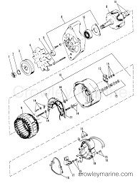 Alternator mando 1986 mercruiser 454 06661346 crowley marine