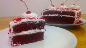 Resep Dan Cara Membuat Red Velvet Cake Youtube
