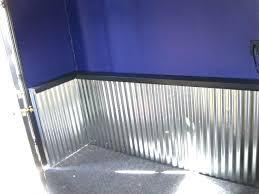 fancy corrugated metal wall corrugated metal wall adding a corrugated metal wainscoting type wall to your fancy corrugated metal