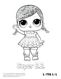 Lol Doll Punk Boy Coloring Pages
