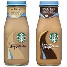 Starbucks Light Frappuccino Flavors