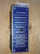 vintage fuse box ferrari 250 225 212 195 8 fuse box electrical board