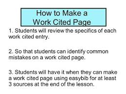 How To Make Work Cited Page Mla Citation An Introduction You Me Mla Citation Book