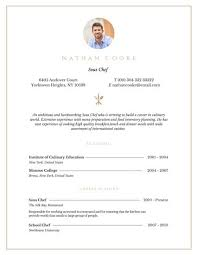 Professional Sous Chef Resume Templates By Canva