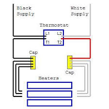 electric baseboard heater thermostat wiring diagrams wiring diagram honeywell baseboard heater thermostat wiring diagram wire