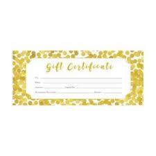 a professionally designed premade able gift certificate this is a beautiful