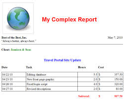 Ms Word Report Wordreport Livecode Reports For Ms Word And Openoffice