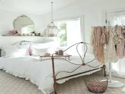 Chic Bedroom Decorating Ideas Taupe Bed Cover Color And Blue Color ...