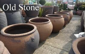 large glazed pots garden planters and
