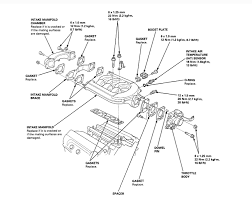 2001 accord a diagram intake manifold egr valve check engine light graphic