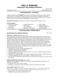 Customer Service Skills For Resume List Free Resume Example And