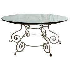 wrought iron dining table base wrought iron dining table furniture interior mesmerizing round glass glass dining