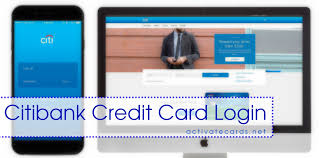 citibank credit card login banking registration apply