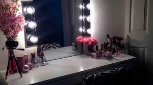 diy hollywood vanity mirror ikea micke desk you