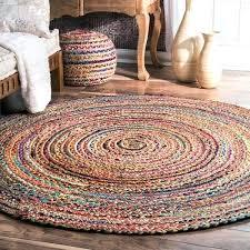 round jute rug 8 casual handmade braided cotton jute multi round rug jute rug 8x6 jute round jute rug