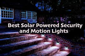 Best Solar Motion Light Reviews Best Solar Powered Security And Motion Lights