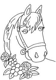 Dressursattel für junge pferde und pferde im aufbau auswahl und kauf des sattels stehen für viele reiter am beginn der richtigen ausbildung: Kostenlose Ausmalbilder Und Malvorlagen Pferde Zum Ausmalen Und Ausdrucken