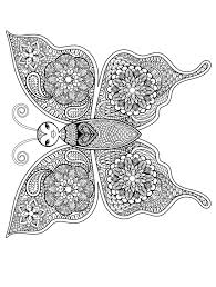 Print out insects coloring page bee with flower. Pin On Butterflies To Color